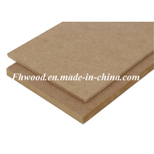 Chinese Plain MDF (Medium-density firbreboard) for Furniture